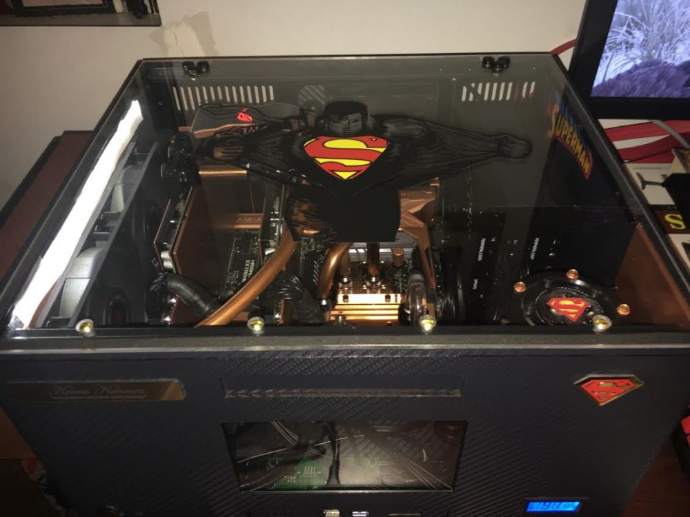 Custom PC Superman Build