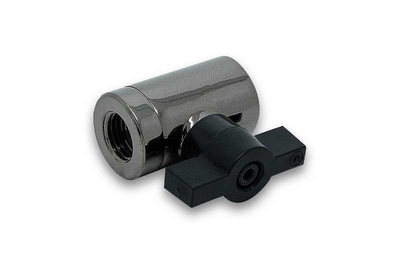 EK-AF Ball Valve (10mm) G1/4 - Black Nickel