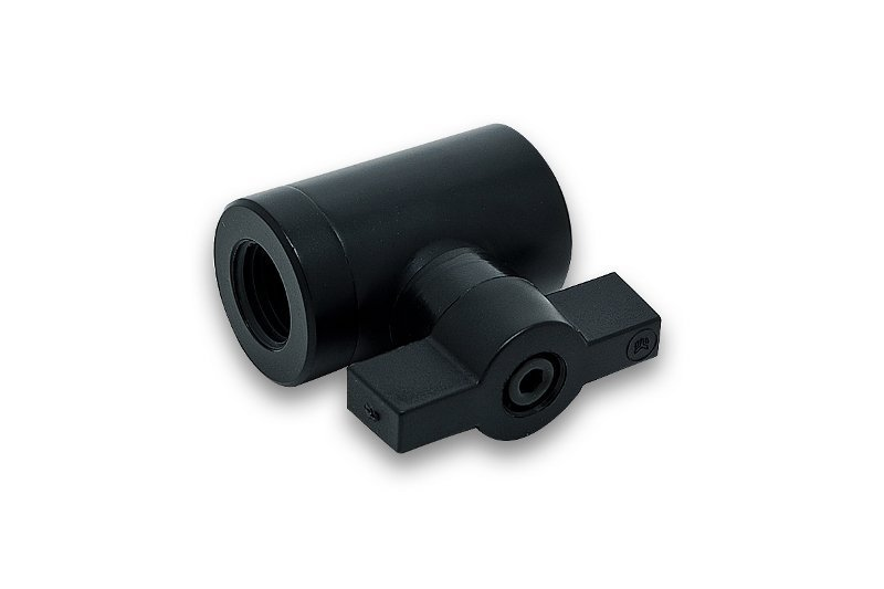 EK-AF Ball Valve (10mm) G1/4 - Black