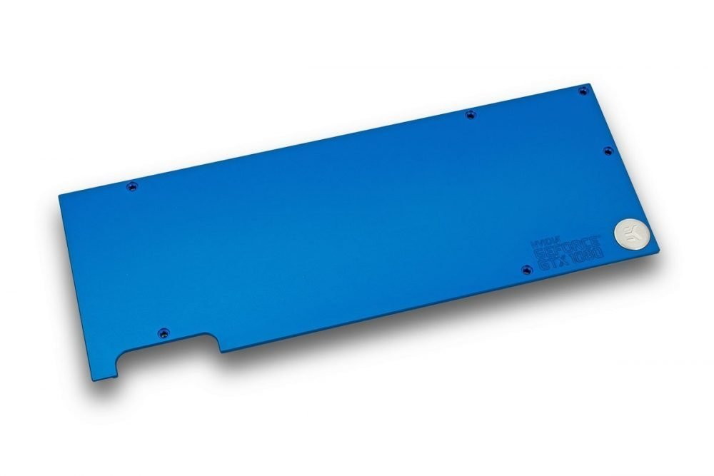EK-FC1080 GTX Backplate - Blue