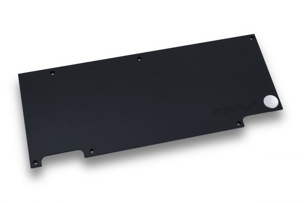 EK-FC1080 GTX Strix Backplate - Black